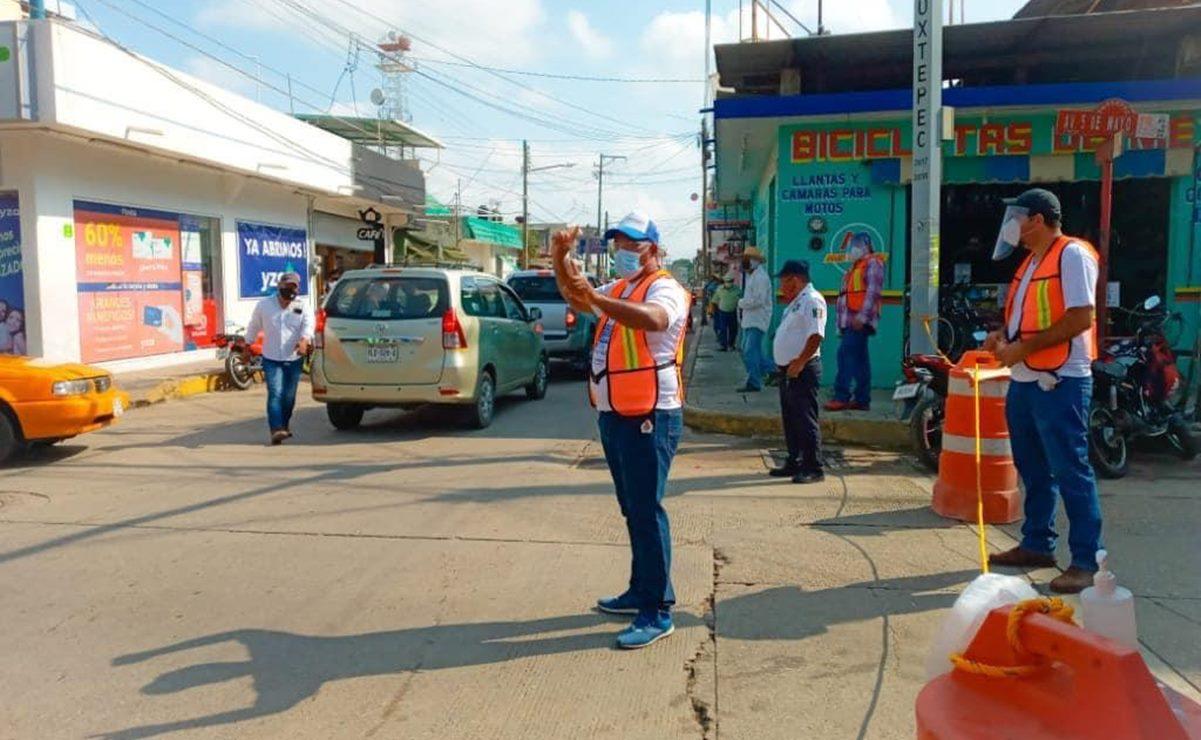 Disminuye Tuxtepec movilidad en segundo día de confinamiento por aumento de casos de Covid-19