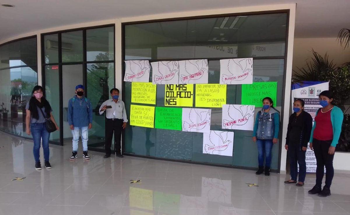Exigen liberar a 7 personas de Eloxochitlán ante riesgo de Covid; suman 5 quejas contra prisiones