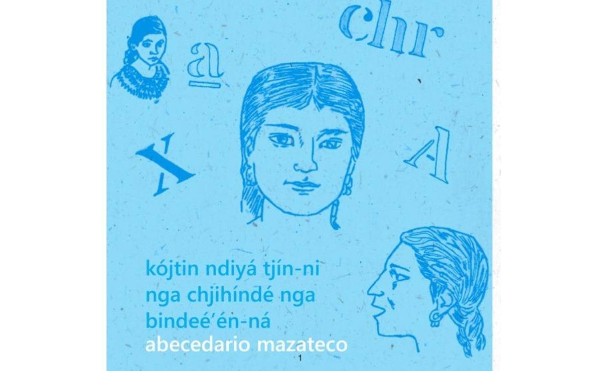 Niñas de Eloxochitlán colaboran en publicación del abecedario en mazateco