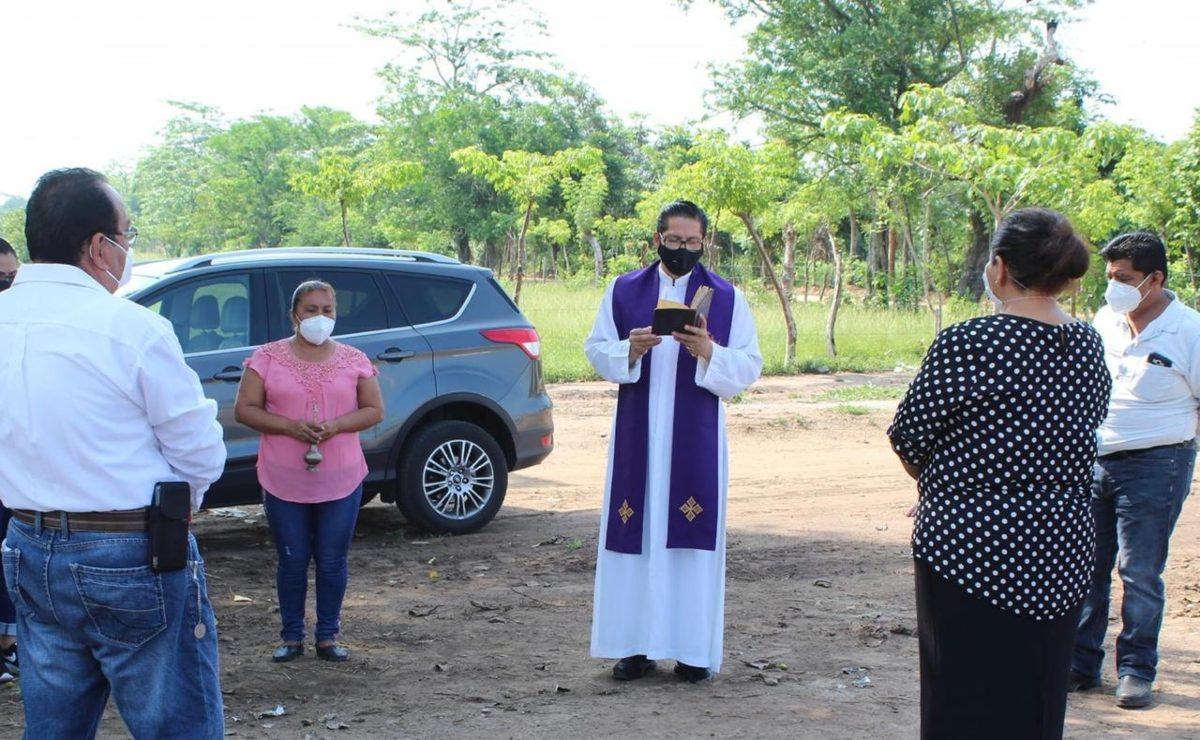 Inauguran nuevo panteón de Loma Bonita, acondicionado tras saturación por muertes de Covid-19