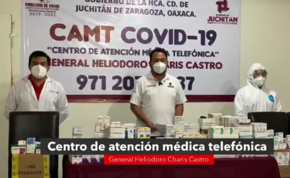 Crean Centro de Atención Médica Telefónica para Covid-19 en Juchitán