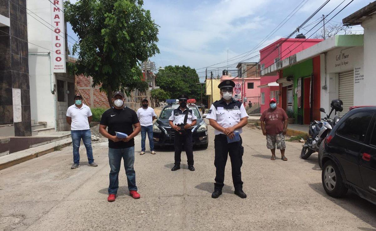 Inseguridad y Covid, labor de policías de Juchitán ahora es más letal; han aislado a 67