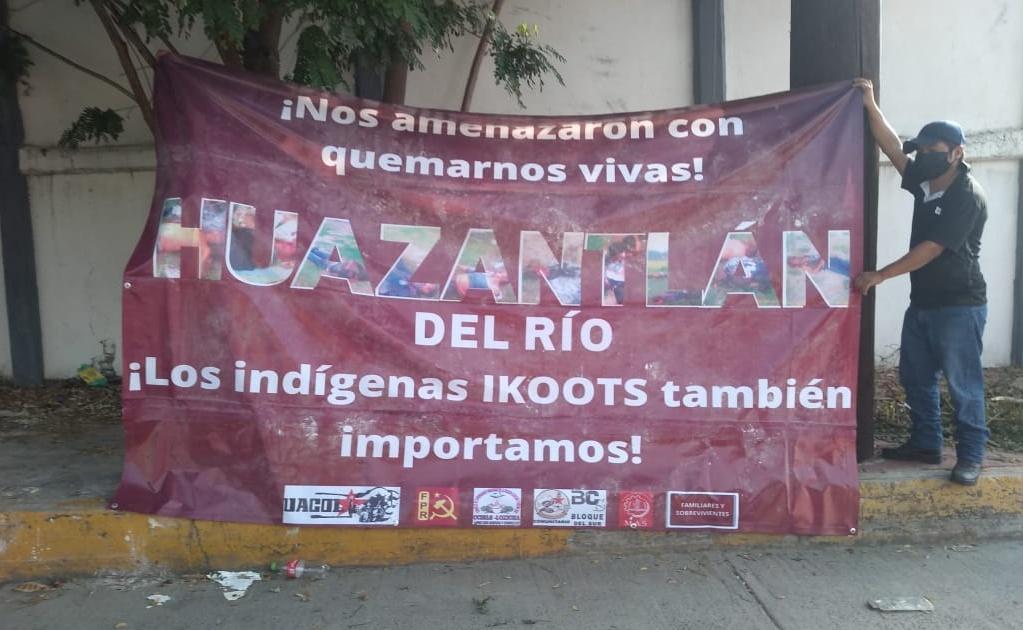 Habitantes de San Mateo del Mar exigen a AMLO justicia por masacre de 15 ikoots