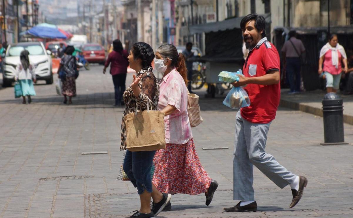 Oaxaca suma 810 casos de Covid-19 en la primera semana de retorno a semáforo rojo