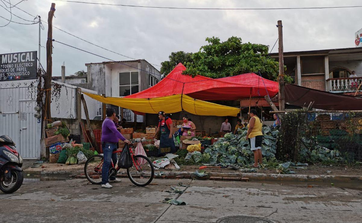 Juchitán intensifica vigilancia para mantener cierre del comercio; municipios vecinos están blindados contra Covid-19