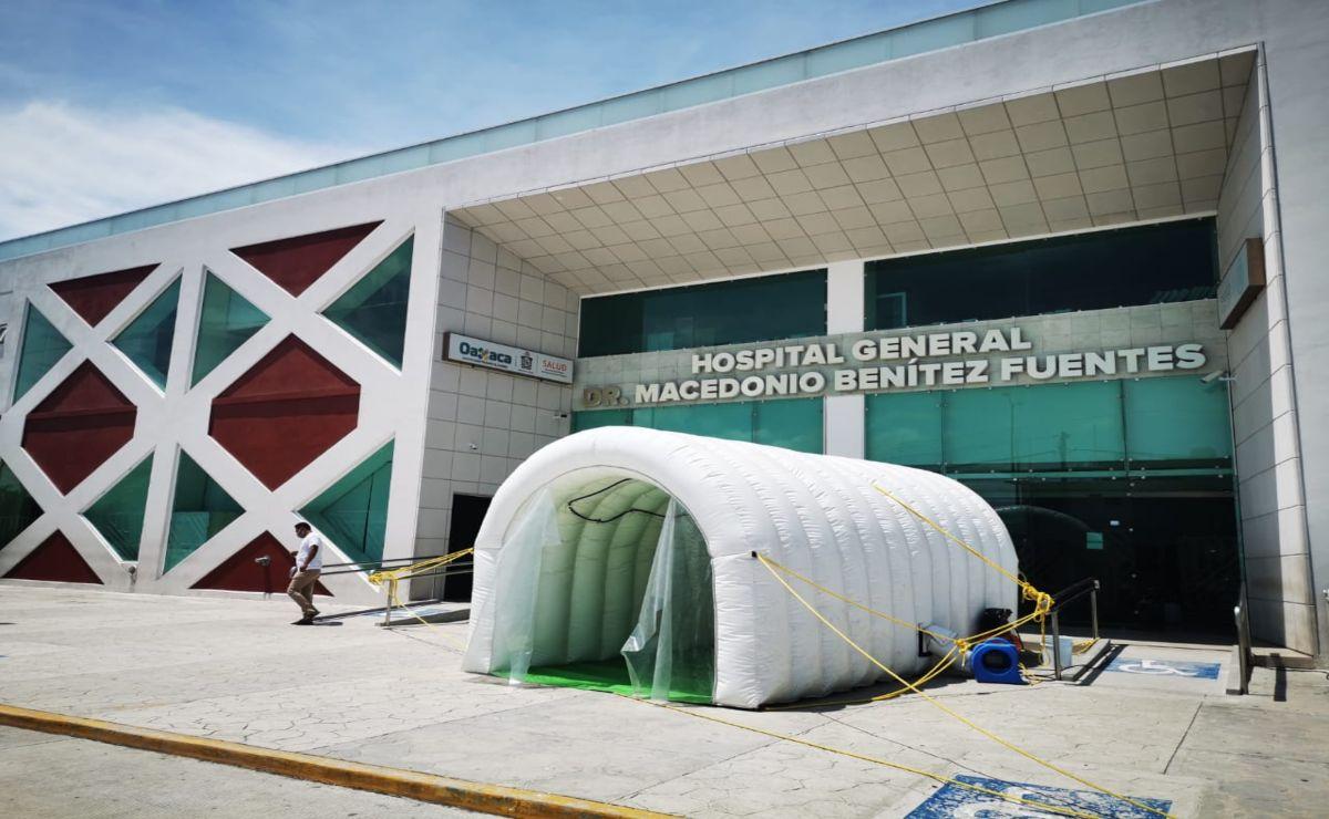 Tras cierre de 17 días por brote de 170 casos de Covid-19, reinicia actividades hospital de Juchitán