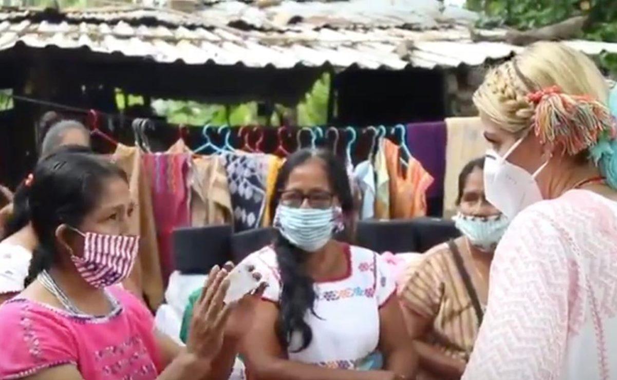 Tras plagio de huipil que usó Katy Perry, artesanas de Oaxaca ya venden sus creaciones por internet