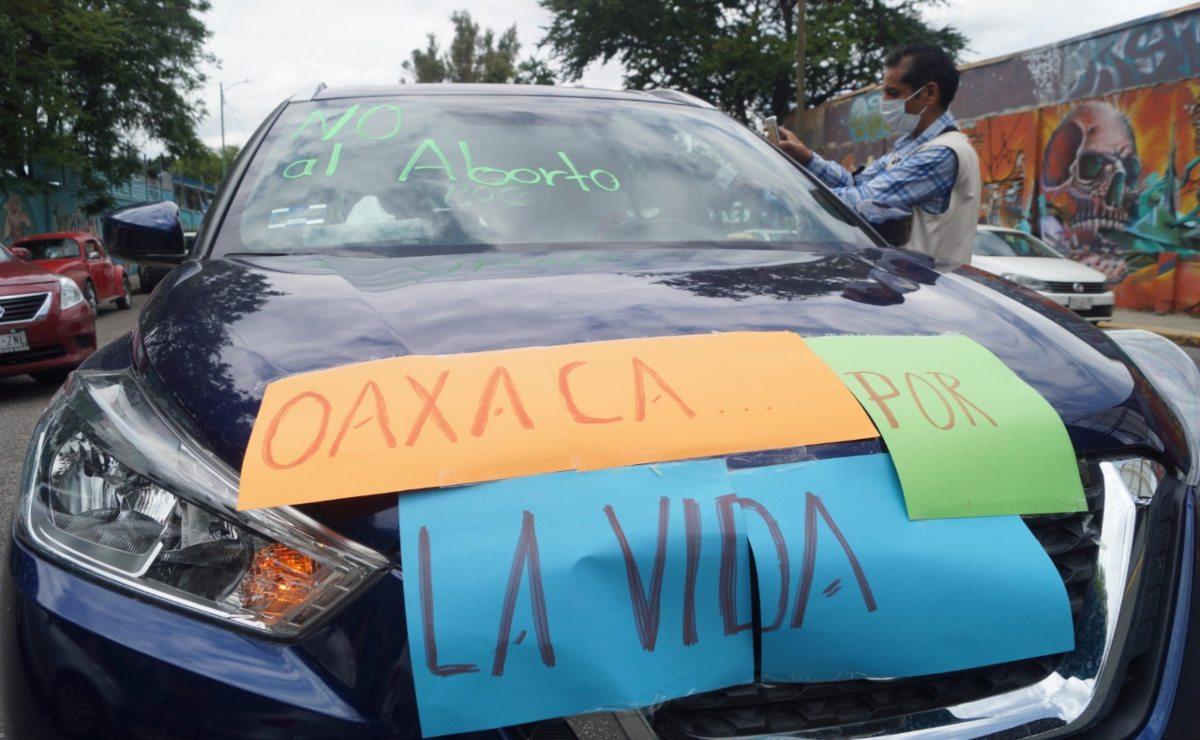 Organizaciones de Oaxaca rechazan que se despenalice aborto en Veracruz