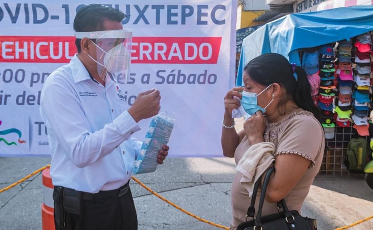 Castigar con prisión a quien no use cubrebocas en Tuxtepec viola Derechos Humanos, acusan