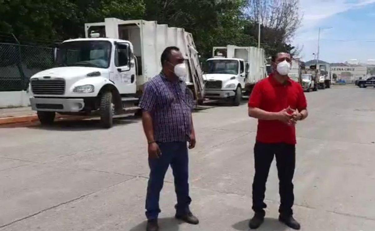 Tras tres días con basura en las calles, Salina Cruz podrá seguir usando terreno ejidal para tirarla
