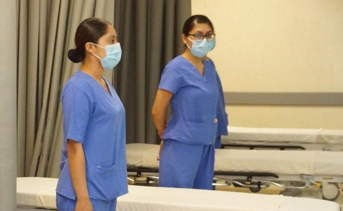 En Oaxaca, mil 837 trabajadores de Salud se han contagiado por Covid-19
