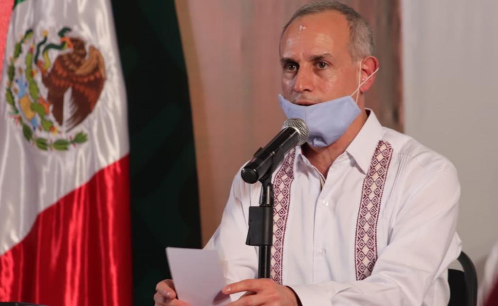 """Nuestro respeto"", dice López-Gatell a gobernadores que le piden renunciar"