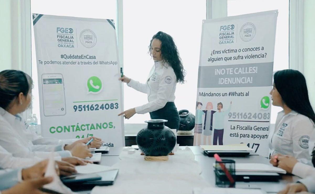 BID reconoce las herramientas digitales para víctimas de violencia intrafamiliar en Oaxaca