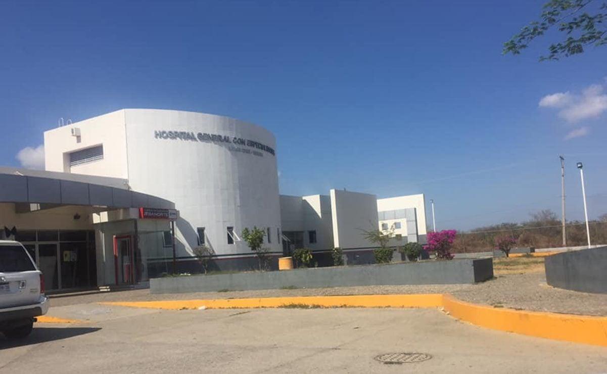 Hospital de Salina Cruz no recibirá pacientes por contaminación de áreas con Covid-19