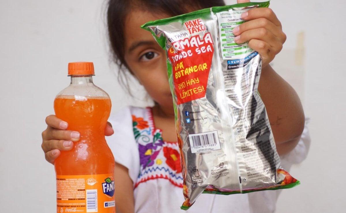 """Proponen en el Senado llevar a todo el país ley de Oaxaca que prohíbe vender """"chatarra"""" a niños"""