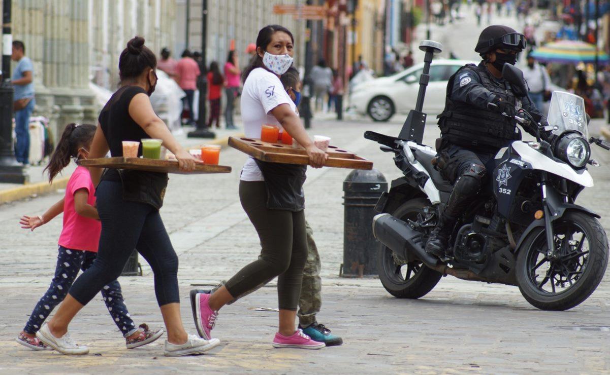 Oaxaca registra 11 mil 975 casos de Covid-19, 606 están activos