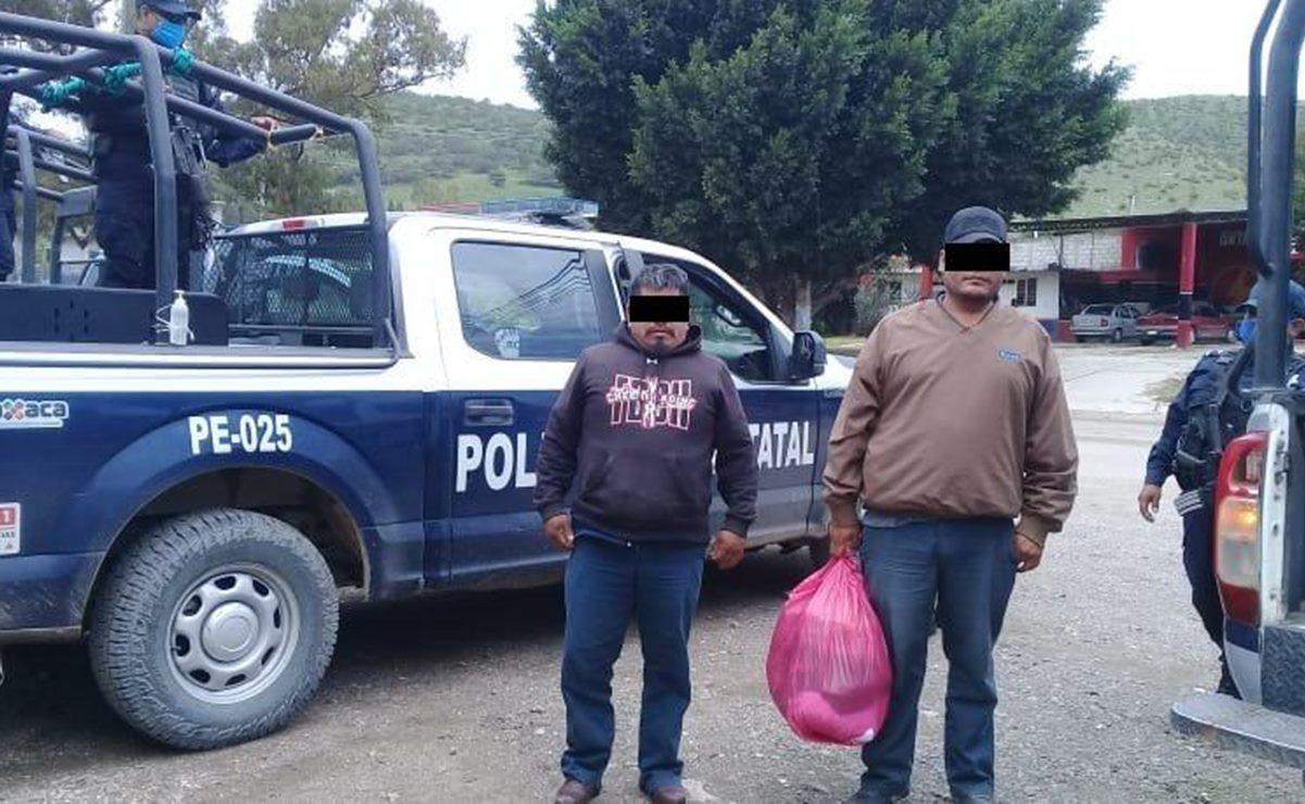 Habitantes de Zochiquilazala liberan a otras dos personas de San Martín Peras, faltan dos