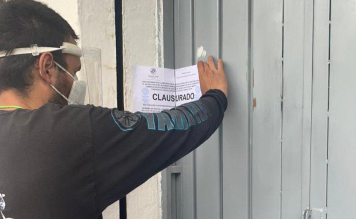 Por incumplir medidas sanitarias anti Covid-19, ayuntamiento capitalino clausura 7 negocios