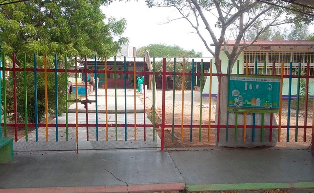 Se mantienen prohibidas actividades presenciales en escuelas por pandemia, reitera IEEPO