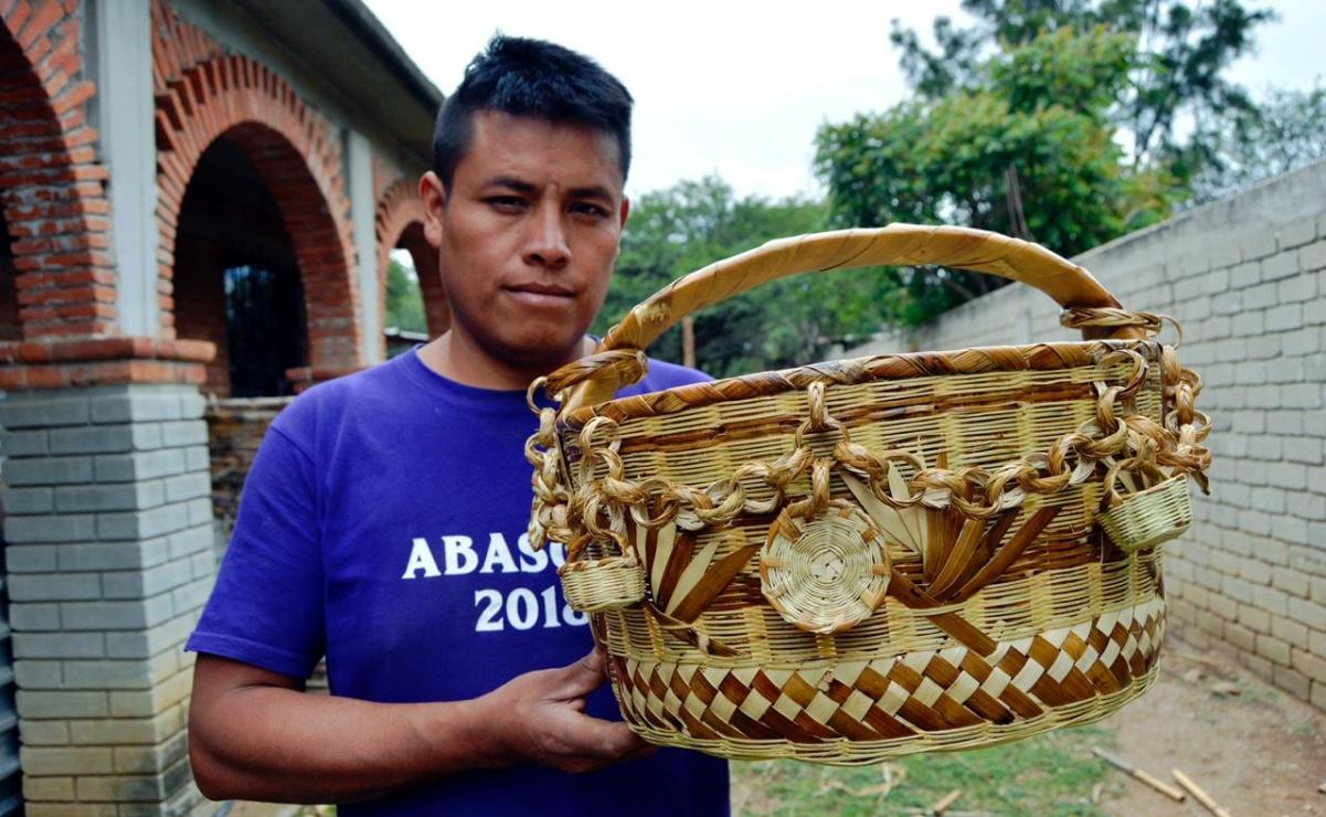 Conciencia ambiental rescató a las artesanías de carrizo, las impulsan para sustituir al plástico
