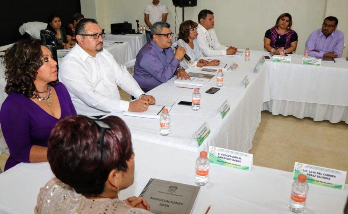 Exigen desde el sindicato de trabajadores del Estado, reactivar negociaciones de aumento salarial