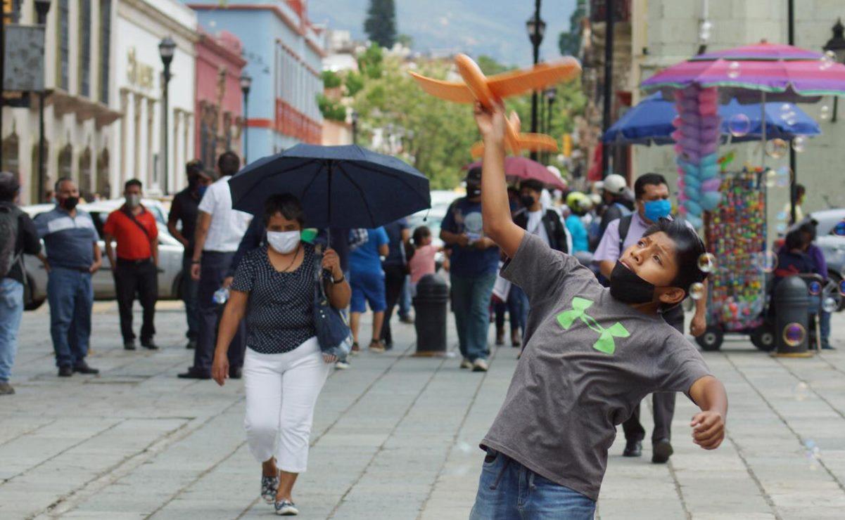 Oaxaca registra 158 nuevos casos de Covid-19 en el día; acumula 12 mil 557 contagios