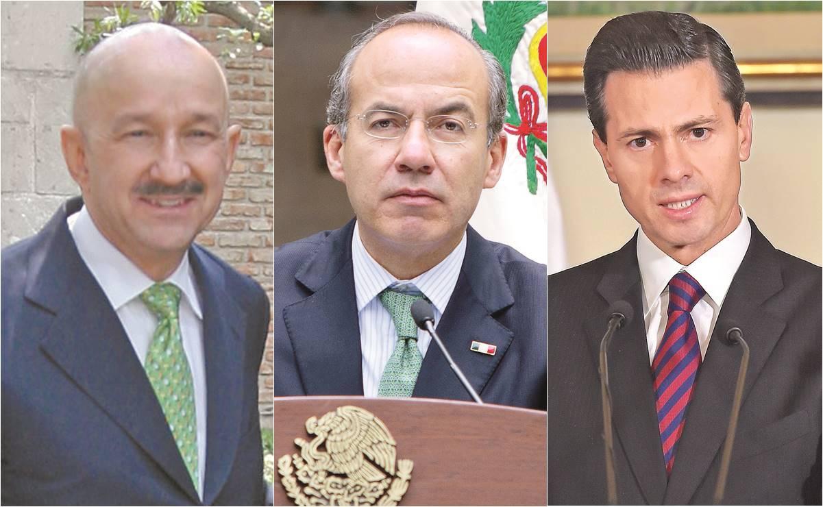 Lozoya implica a Salinas, Calderón y Peña Nieto