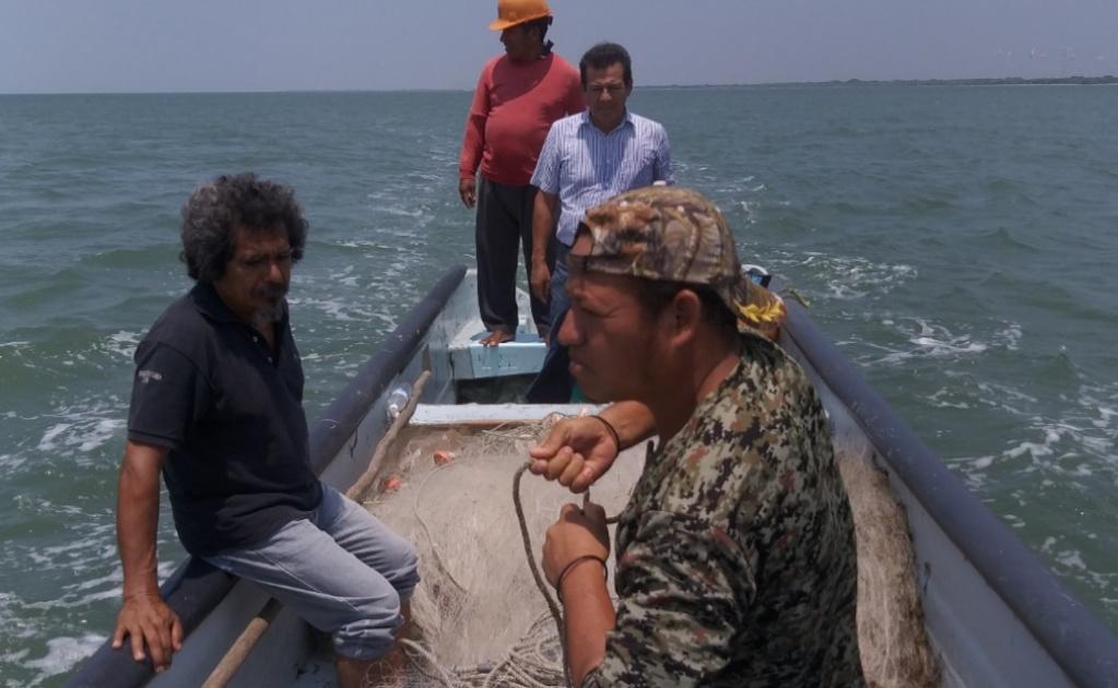 Prioriza 4T apoyos directos a pescadores de zonas rurales, y municipios del Interoceánico