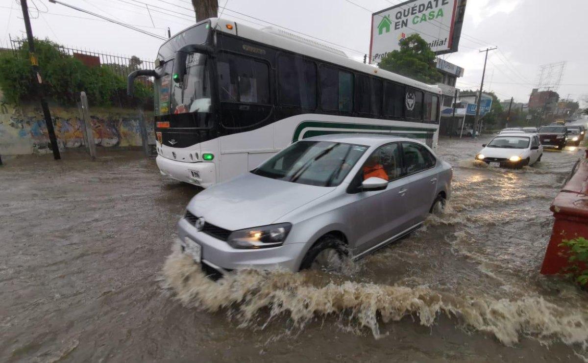 Persistirán lluvias por Onda Tropical número 30 en territorio oaxaqueño este domingo