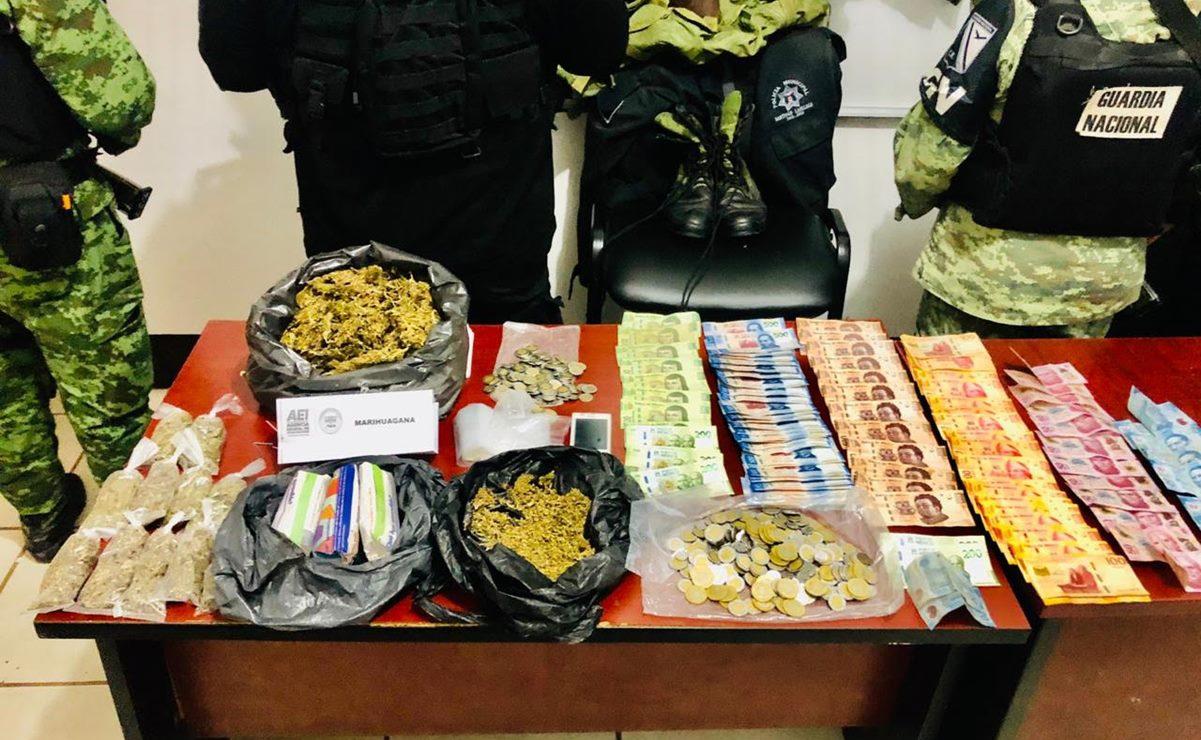 Armas, droga y tres personas detenidas dejan 5 cateos simultáneos en el Istmo