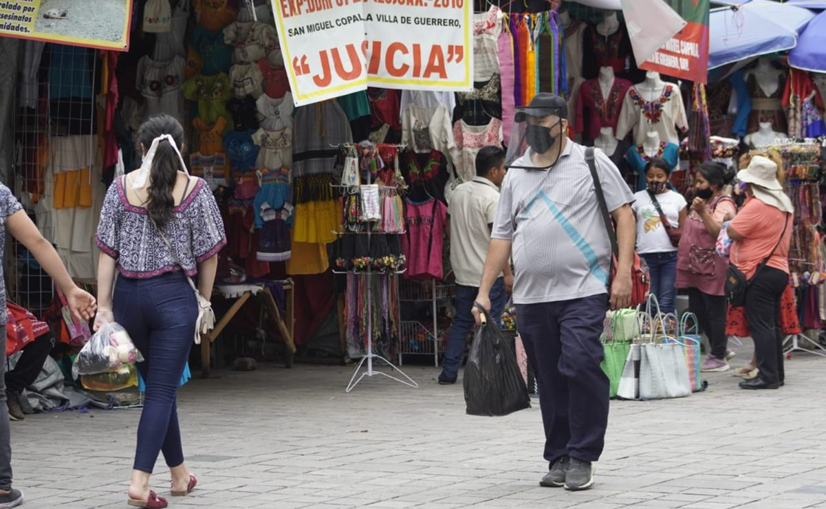 Coronavirus: Oaxaca suma 13 mil 271 contagios y mil 235 fallecimientos por Covid-19