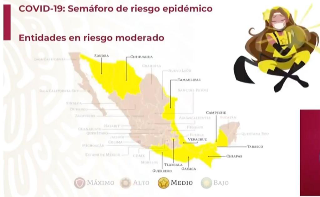 Oaxaca transita a semáforo amarillo; hay 13 mil 401 casos confirmados de Covid-19