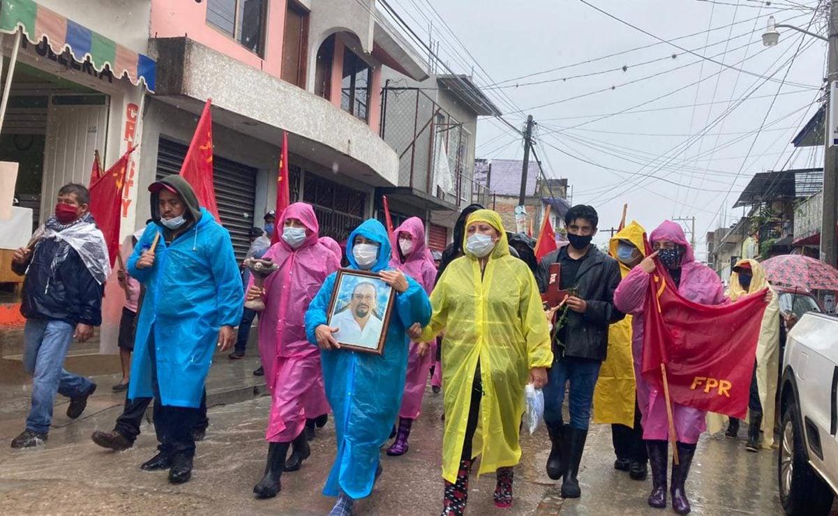 Anuncia FPR marcha con organizaciones para exigir justicia por asesinato de su líder