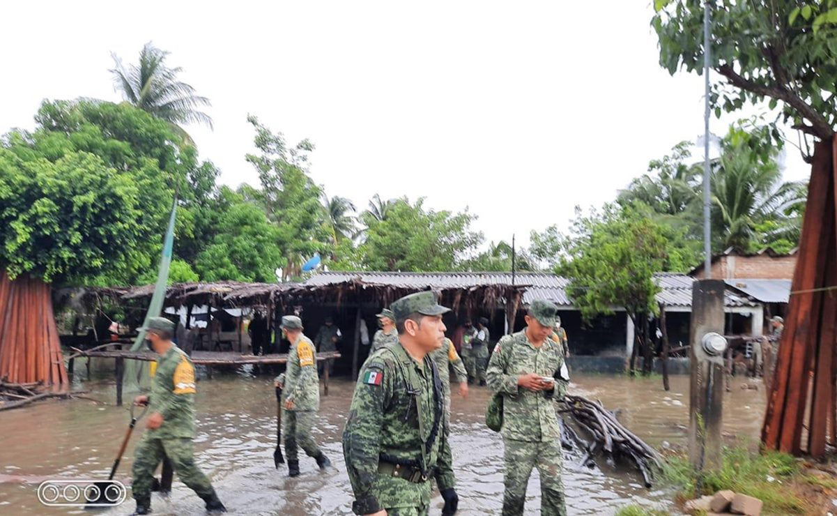 Solicitan a la Federación declarar en Emergencia a 16 municipios de Oaxaca afectados por las lluvias