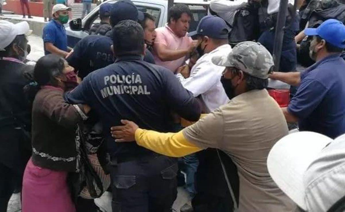 Artesanas de la Mixteca denuncian ante CNDH represión de policías municipales de Tlaxiaco