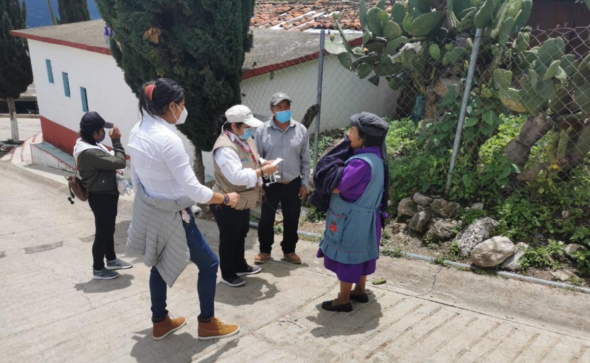 Recorren brigadas médicas 6 municipios de Oaxaca aplicando pruebas de Covid-19 y VIH