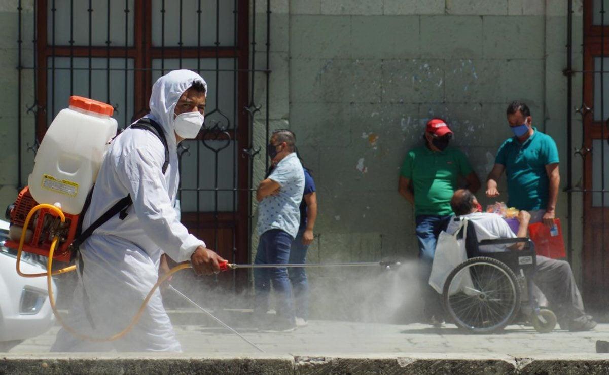 En primer día en amarillo, reporta Oaxaca 13 mil 699 casos de Covid-19; 458 están activos