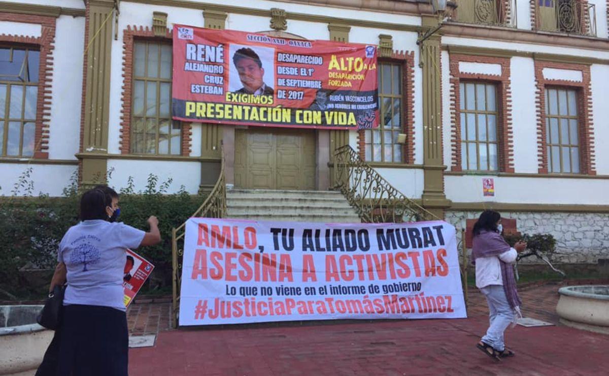 Protesta FPR afuera de la Fiscalía; cuestionan método para investigar asesinato de su líder