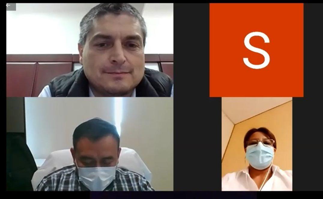 Con videollamadas a familiares, Servicios de Salud levantan ánimo de pacientes aislados por Covid-19