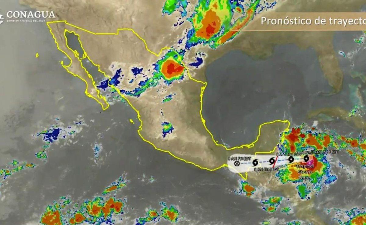 """Advierten lluvias torrenciales en el Istmo por impacto de ciclón """"Nana"""", en las próximas 48 horas"""