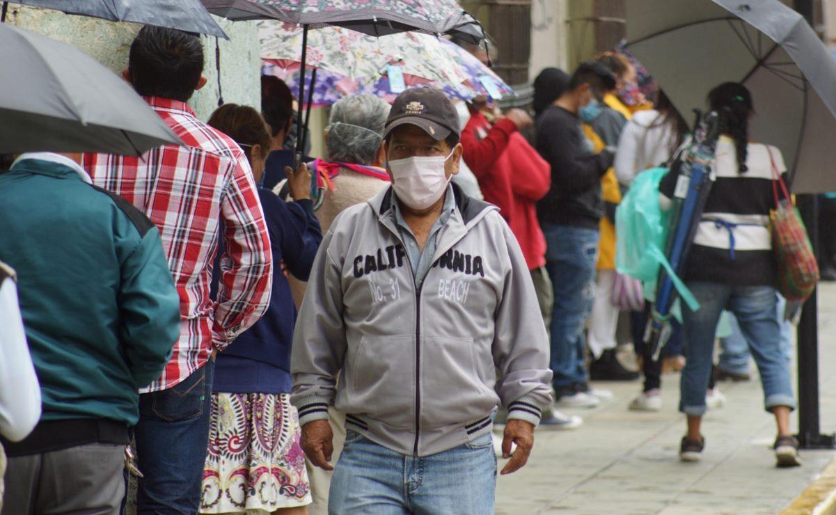Registra Oaxaca 63 contagios por Covid-19 en el día; acumula 13 mil 968 casos