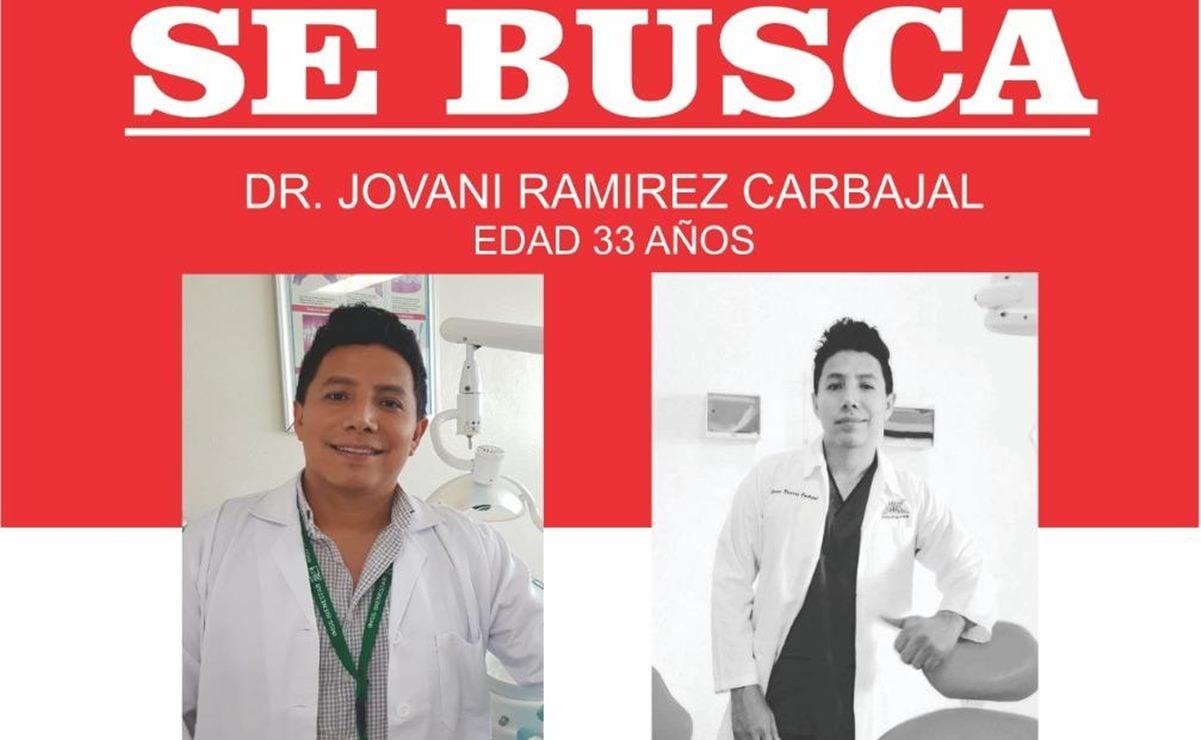 Desaparece médico de 33 años en Jamiltepec, fue visto por última vez afuera de hospital del IMSS
