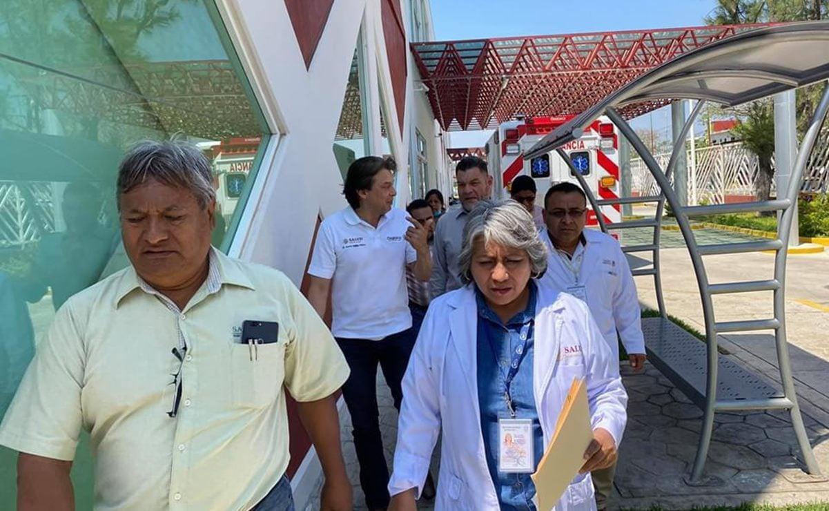 El Covid-19 no para el sueño de Temo de Gyves para el hospital de Juchitán
