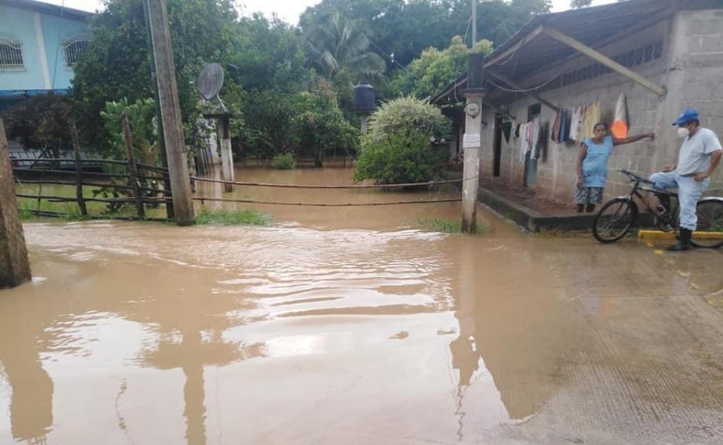 """Deja """"Nana"""" inundaciones en Valle Nacional, a su paso por Oaxaca"""