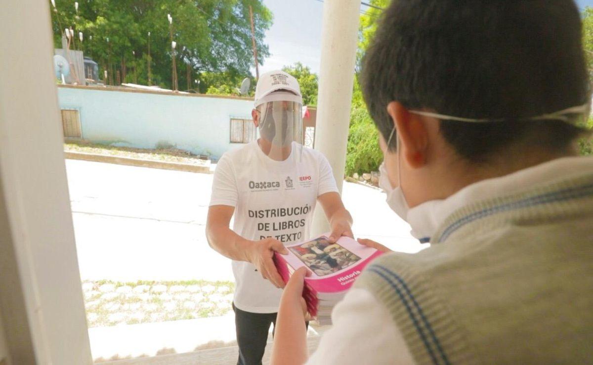 Entregarán 6.7 millones de libros de texto gratuitos a alumnos de educación básica en Oaxaca