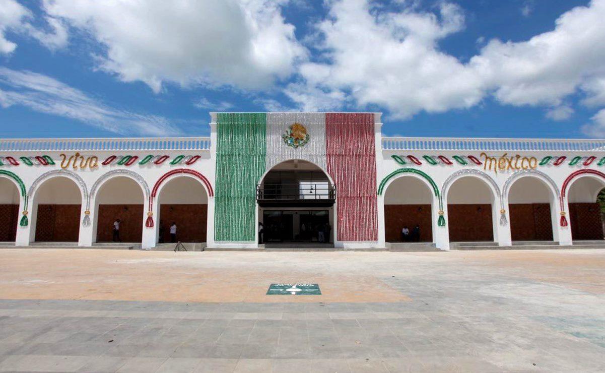 Inauguran en Ixtaltepec el primer palacio municipal rehabilitado en el Istmo tras el terremoto del 7S
