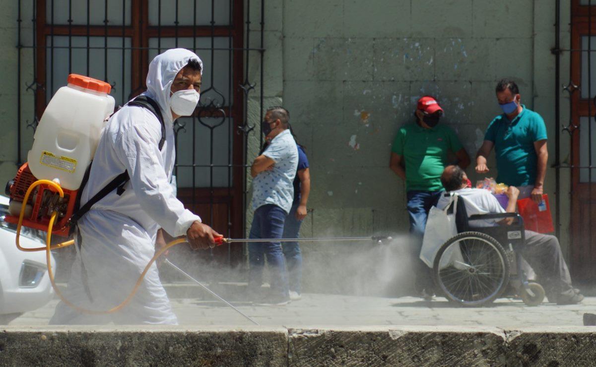 Oaxaca suma 14 mil 275 casos de Covid-19; hay 412 activos