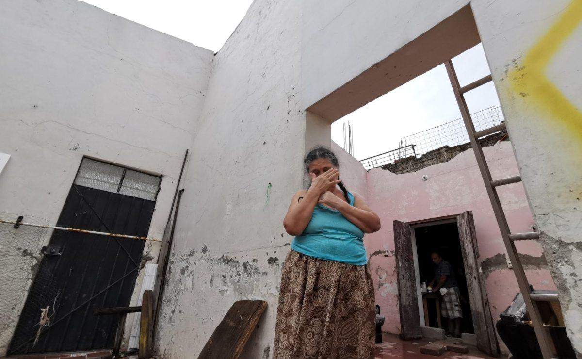 A tres años del terremoto del 7-S, en Juchitán no hay dinero para seguir levantándose