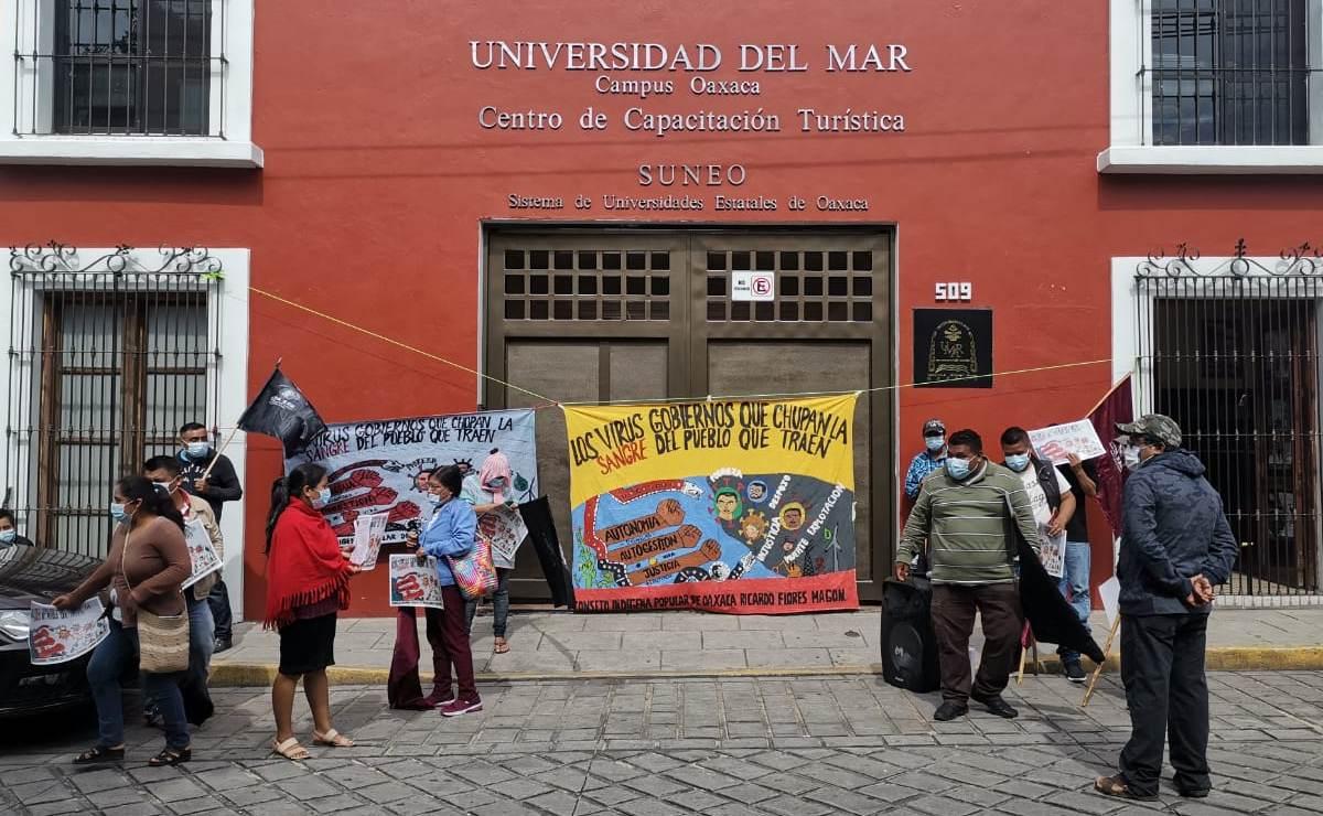 Protesta CIPO para exigir atención de autoridades; anuncian jornada de manifestaciones