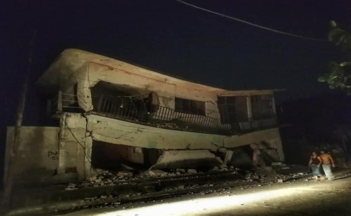 Una hora entre los escombros de Juchitán: la noche más larga dejó una herida que sigue abierta